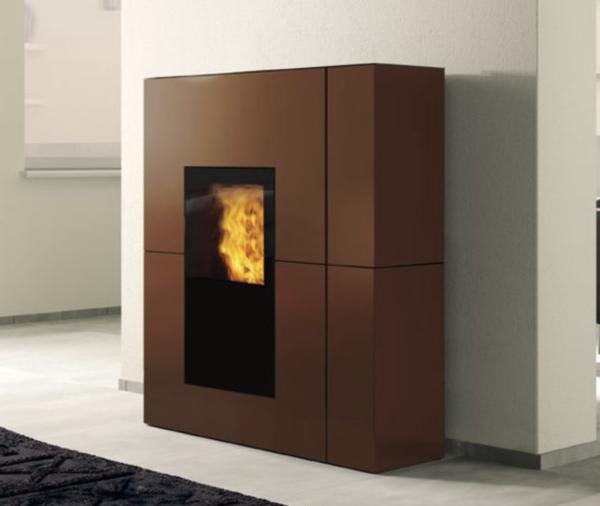 termostufa blade h bronzo