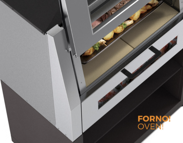 2 IN 1 FORNO E BARBECUE