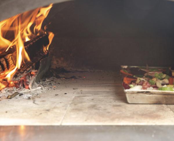 mangiafuoco forno a legna