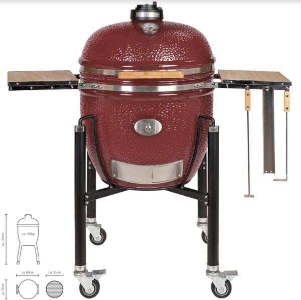 le chef rosso carrello